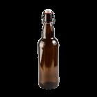 Butelka 1000 ml Fulgor brązowa z pałąkiem