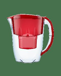 Dzbanek Aquaphor Jasper 2,8 l z licznikiem + wkład B25 czerwony