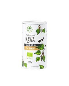 Kawa czarna mielona z chagą eko 200g