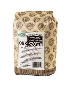 Mąka orkiszowa razowa typ 2000 1 kg