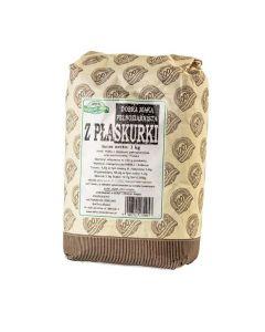 Mąka z płaskurki pełnoziarnista 1kg